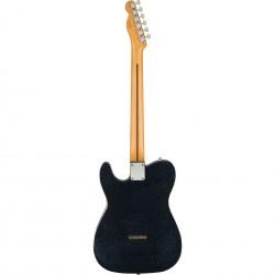 Fender Brad Paisley Road Worn Esquire Electric Guitar - Black Sparkle