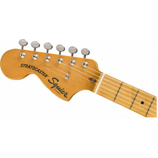 Fender Squier Classic Vibe '70s Stratocaster HSS - Black with Maple Fingerboard