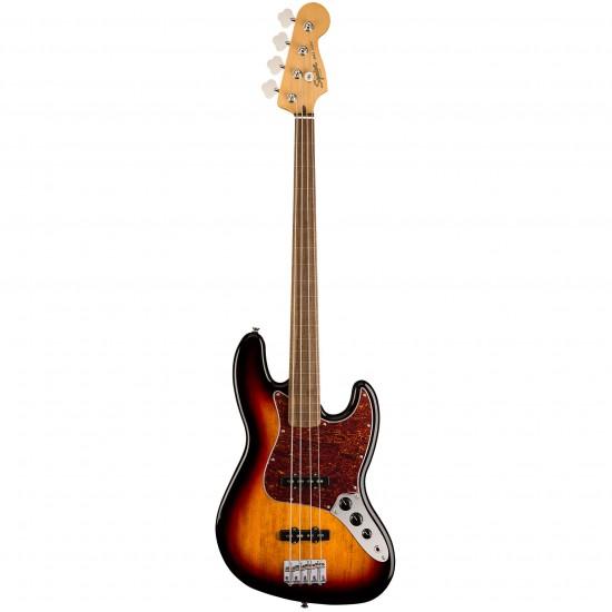 Fender Classic Vibe 60S Jazz Bass Fretless-3-Tone Sunburst
