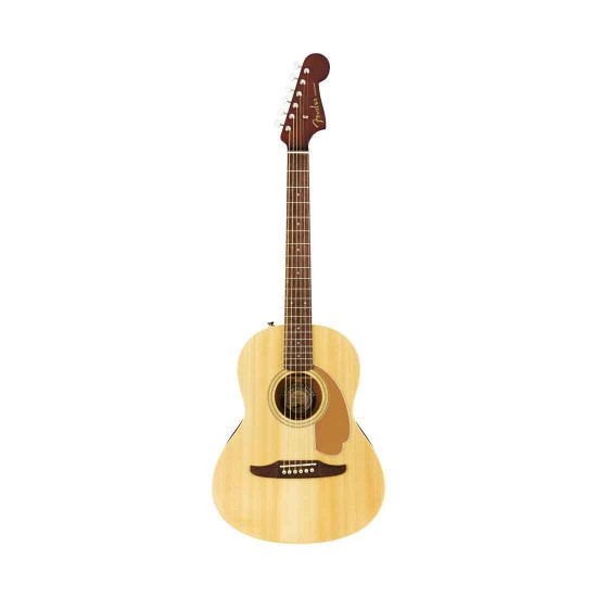 Fender 0970770121 Sonoran Mini Acoustic Guitar Bundle in Natural