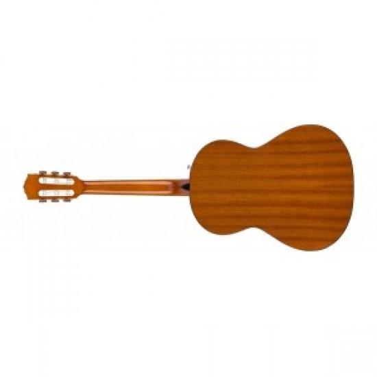 Fender 0971170106 FA-15 3/4 Scale Steel Acoustic Guitar Bundle - Black
