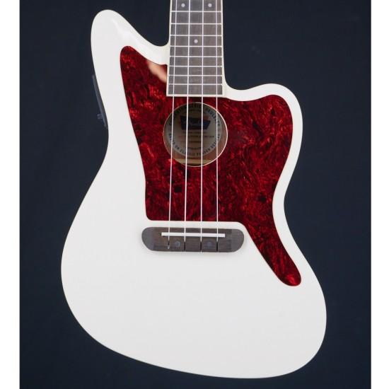 Fender Fullerton Jazz Master Uke Olympic White