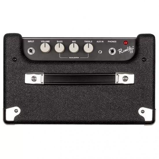 Fender 2370106900 Rumble 15 V3 Combo Bass Amplifier