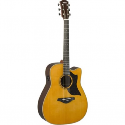 Yamaha A5R ARE Dreadnought Electro Acoustic Guitar - Vintage Natural