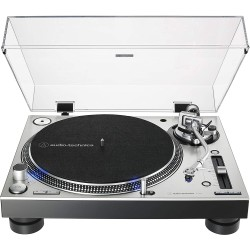 Audio Technica AT-LP140XPDirect-Drive Professional DJ Turntable - Silver
