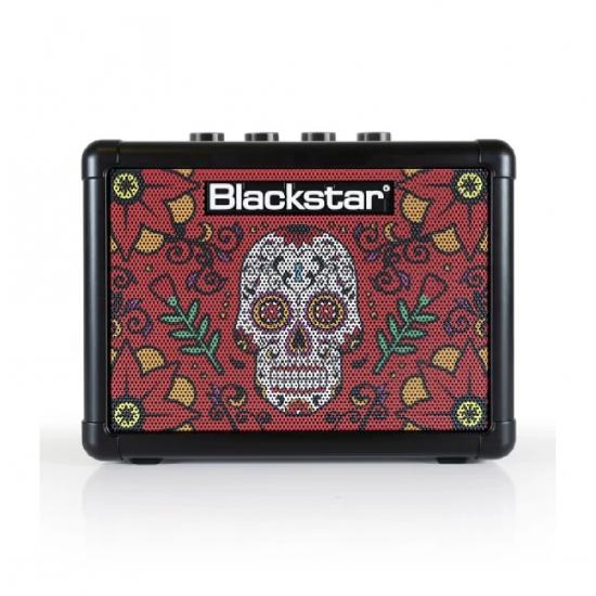 BLACKSTAR Fly3 Sugar Skull Edition 2, 3 Watt Combo Mini Amplifier