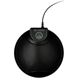 AKG CBL 410 PCC TeleConference & VoIP Applications Microphone Black