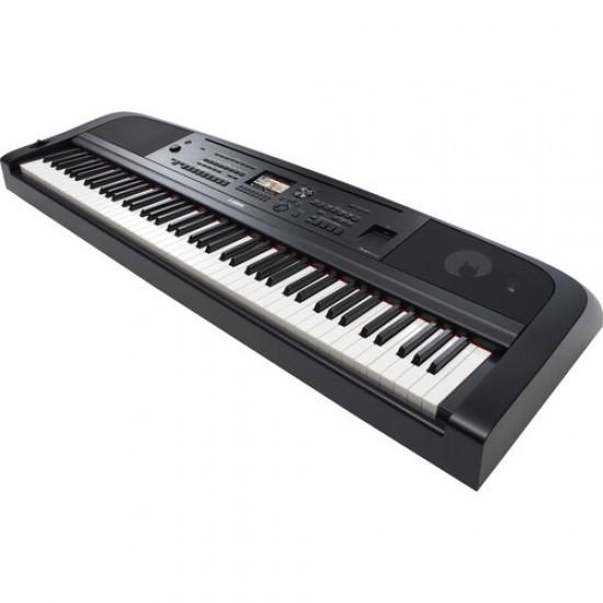 Yamaha DGX-670 88-Key Portable Digital Grand Piano , Black