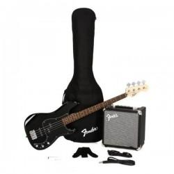 Fender 0371982406 PK Pj Bass R15V3 Black Gb 230V Uk