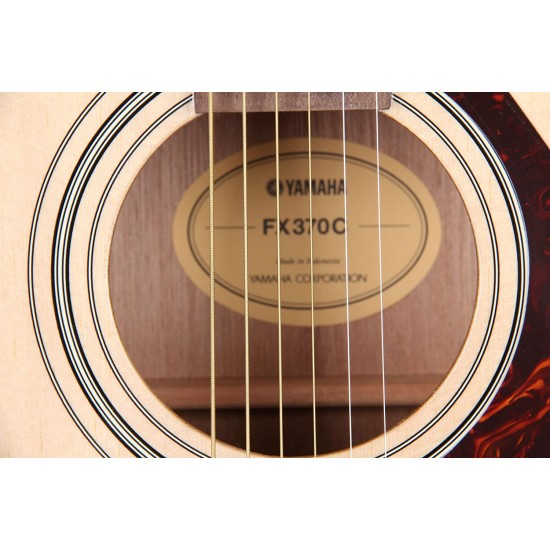 Yamaha  FX370C Acoustic Electric Guitar - Natural