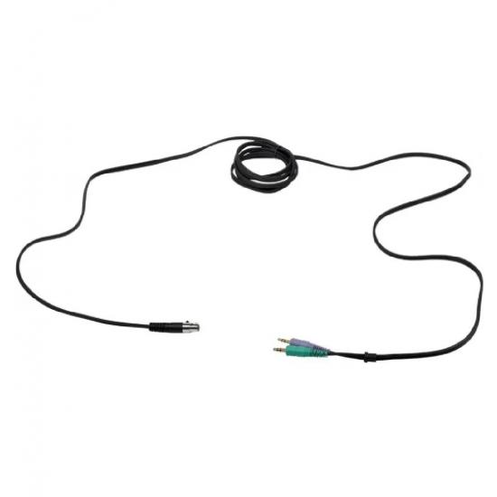 "AKG Headset cable for Studio, Moderators, Commentators (3pin XLR male, 1/4"" jack)"