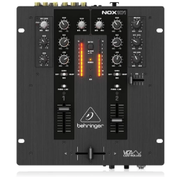 Behringer  NOX101 Premium 2-Channel Dj Mixer With Full VCA-Control And Ultra Glide Crossfader Black