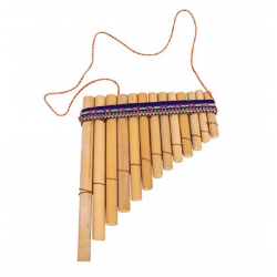 Percussion Plus PP863 Pan Flute Pipes Peruvian 13 Note