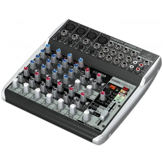 Behringer Xenyx QX1202USB Mixer with USB and Effects