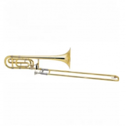 Bach TB200 Series Trombone Outfit Lacquer TB200B Lacquer F Attachment- DISPLAY UNIT