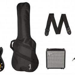 Fender 0371982432 Squier Pack Affinity Series PJ Bass Brown Sunburst