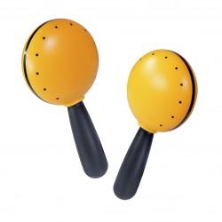 Halilit Hi-Lo range maracas - Yellow