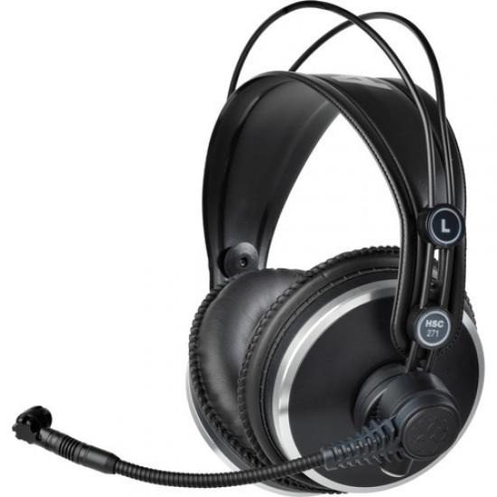 AKG HSC271 Studio Set Bundle Headset w/Condenser Mic
