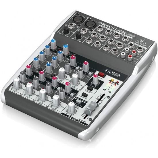 Behringer Xenyx Q1002USB Mixer with USB