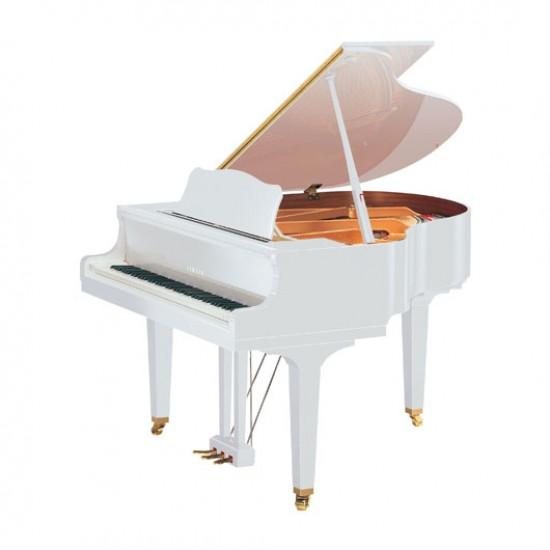"Yamaha C1X Grand Piano 5'3"" grand piano in Polished White"