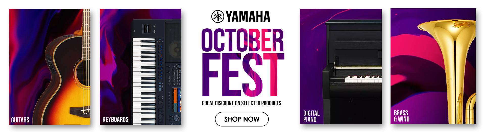 Yamaha October Promotions