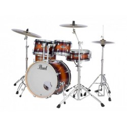 Pearl EXL725SP/C222 Export Lacquer 5pcs Drums Gloss Tobacco Burst Finish (Without Hardware)