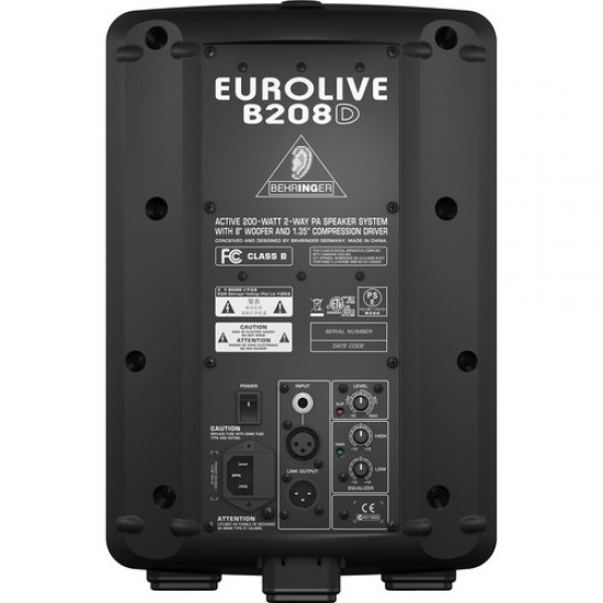 Behringer Eurolive B208D 200W 8 inch Powered Speaker