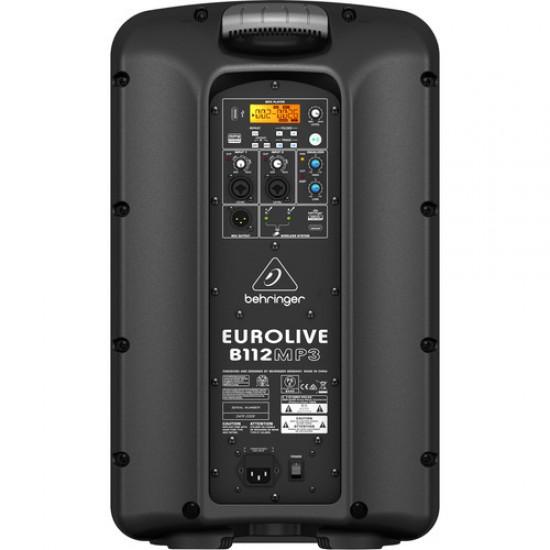 Behringer Eurolive B112MP3 1000W 12 inch Powered Speaker