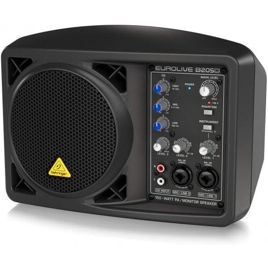 Behringer Eurolive B205D 150W Powered Monitor Speaker