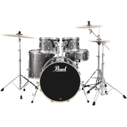 Pearl Export EXX725FP/C708 5-piece Drum Set - Grindstone Sparkle (Without Hardware)