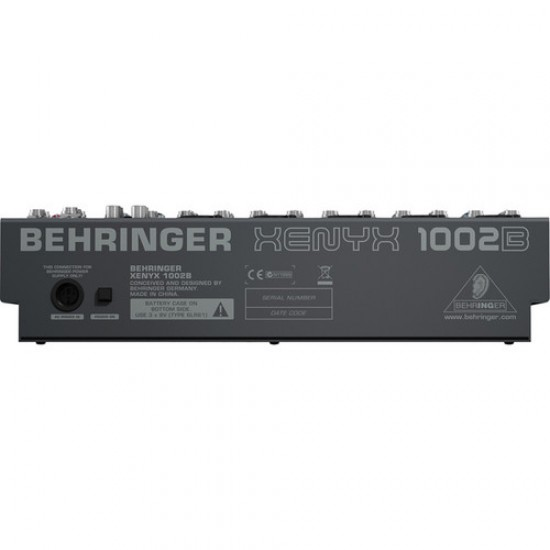 Behringer Xenyx 1002B 10-channel Analog Mixer