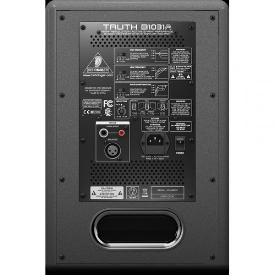 Behringer Truth B1031A 8 inch Powered Studio Monitor