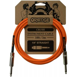 Orange CA034 Crush 10-Foot Instrument Cable, Straight to Straight