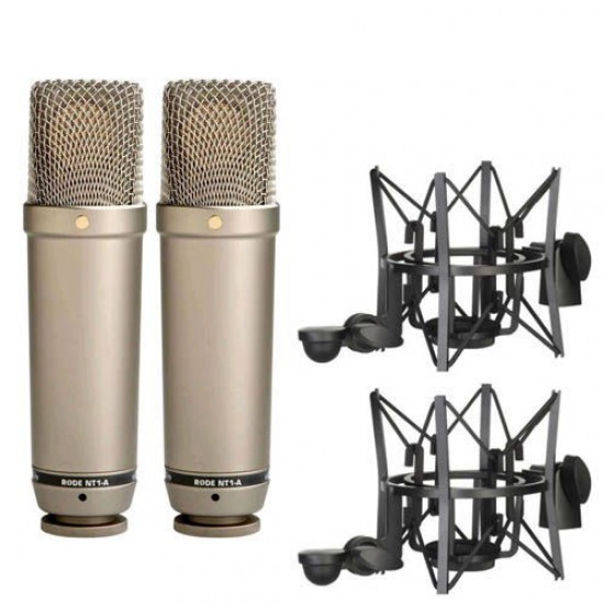 Rode NT1-A Matched Pair Condenser Microphone