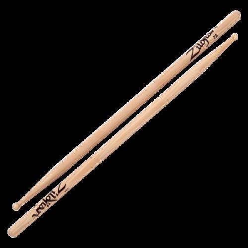 Zildjian Drumsticks -7A Wood Natural