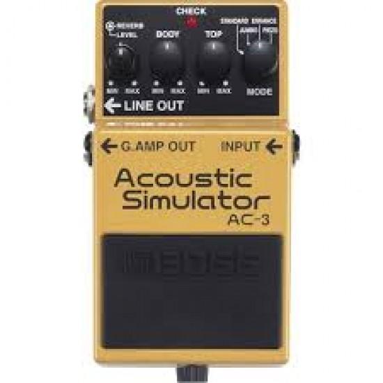 Boss Acoustic Pedal - AC-3