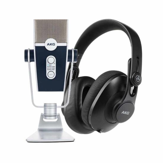 AKG Lyra With AKG k361bt Headphone Bundle