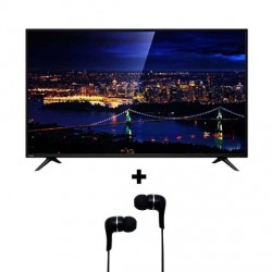 Toshiba 32S2850EE 32-Inch HD LED Television with Free RZE-D32E Earphone