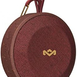 House of Marley No Bounds Portable Speakers, Red - EM-JA015-RD