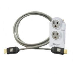 Monster TV Power Protect Bundle Kit AVFL 200 2 Outlet + JHIU HDMI Cable 1.5 Mtr