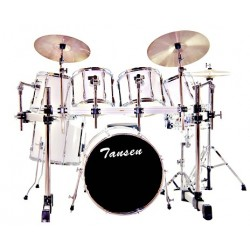 Tansen JBP0006 7 Pcs Drum Set