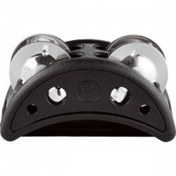 Meinl CFJS2SBK Compact Foot Tambourine