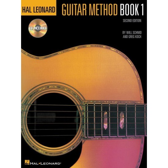 Guitar Method Book 1 with  Cd andDvd