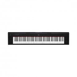 Yamaha NP-32B 76 Keys Portable Piano-Style Keyboard With Free Power Adaptor