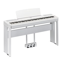Yamaha P515WHT 88 Key Digital Piano  With Stand and Pedals White