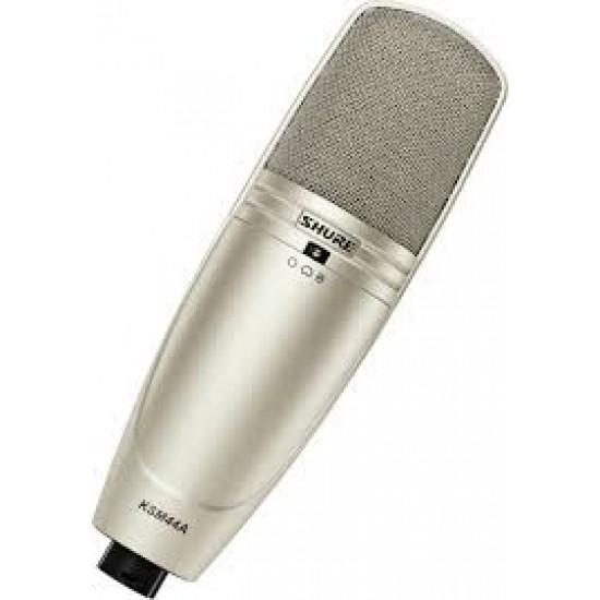 Shure-KSM44A Studio Condenser Microphone