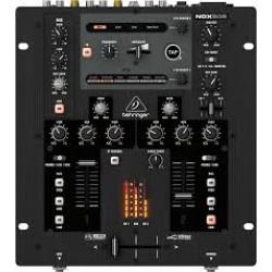 Behringer -Pro Mixer NOX202 Premium 2-Channel Dj Mixer