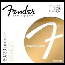 Fender 80/20 Bronze Acoustic Strings