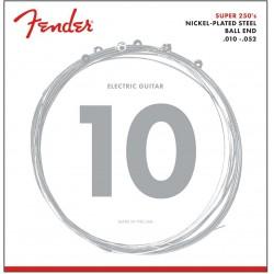 Fender 250RH Nickel-Plated Steel Guitar Strings -Ball End