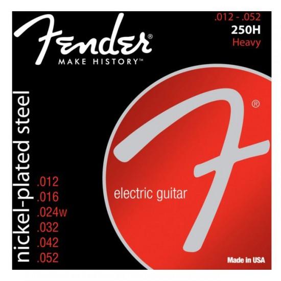 ender 0730250409 250H 12-52 Nickel Plated Steel Electric Guitar Strings